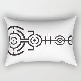 Crop Circle Rectangular Pillow