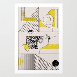 C-O-double-M-O-N Art Print