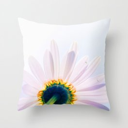 Blooming Daisy Throw Pillow