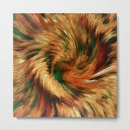 Swirling in the forest.... Metal Print