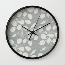 Eucalyptus Dove Wall Clock