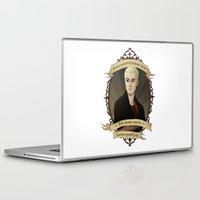 buffy the vampire slayer Laptop & iPad Skins featuring Spike - Buffy the Vampire Slayer/Angel by muin+staers