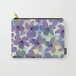 Floral Pattern #4 Carry-All Pouch