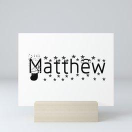 Matthew Mini Art Print