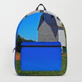 Beautiful Barn under Blue Sky Backpack