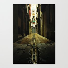 Barcelona Alley Canvas Print