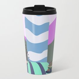 hare and tortoise fable Travel Mug
