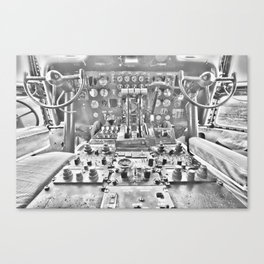 Guppy cockpit Canvas Print