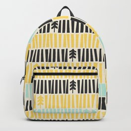 Mid-Century Modern illustrated Pattern Backpack