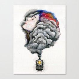 The Midnight Train Canvas Print