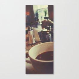 Tea at The Elephant House Canvas Print