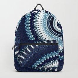 Indigo Boho Mandala Backpack