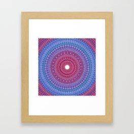 Keeping a Loving Heart Mandala Framed Art Print