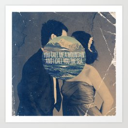 Ingrid Michaelson - Mountain and the Sea Art Print
