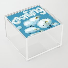 Counting sheep Acrylic Box
