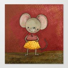 Danooshka the Mouse Canvas Print