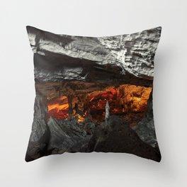 Behemoth Lair Throw Pillow