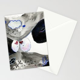 Last kiss Stationery Cards