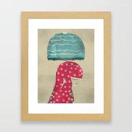 its raining again Framed Art Print