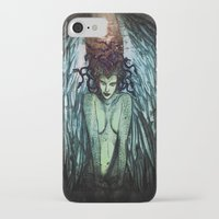 medusa iPhone & iPod Cases featuring Medusa  by CLE.ArT.