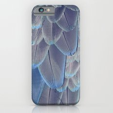 Silver Feathers Slim Case iPhone 6s