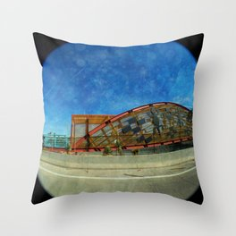 Basket Bridge Textured Throw Pillow