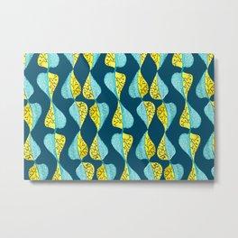 Botanical pattern art Metal Print