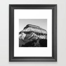 MT Garfield Dust B/W Framed Art Print