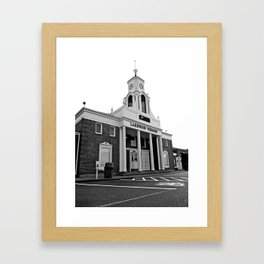 Historic Lakewood Theatre  Framed Art Print