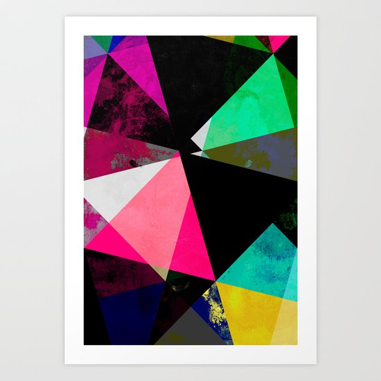 Abstract 01 Art Print