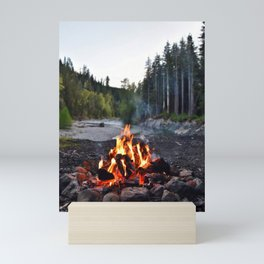 Campfire Time Mini Art Print