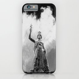 Monument Series: Gravity Angel #4 iPhone Case