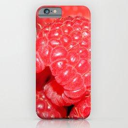 Red Raspberries Freshly Picked iPhone Case