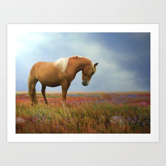 Painted Pastures Art Print