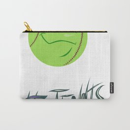 Tennis ball smiley Carry-All Pouch