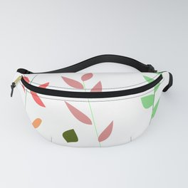 Colorful grasses Fanny Pack