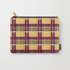 Whatever Plaid Carry-All Pouch