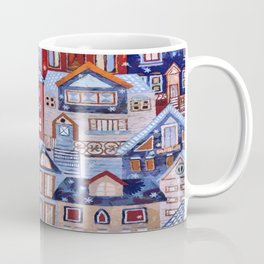 Winter town Coffee Mug