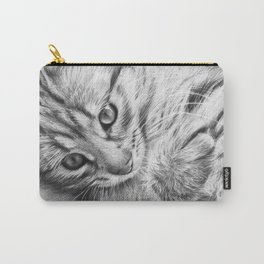 Cat Kitten Dawing Carry-All Pouch
