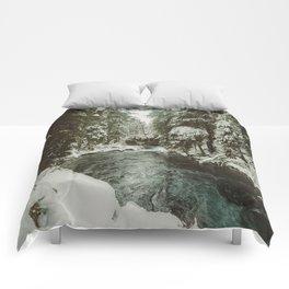 Adventure Awaits River II - Pacific Northwest Nature Photography Comforters