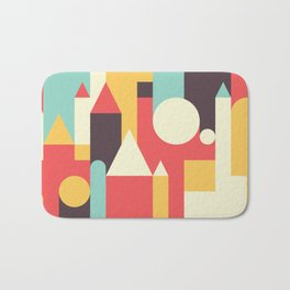 Abstract Pattern Background Bath Mat