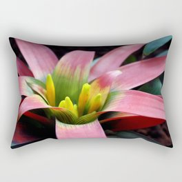 Bromeliad Plant Rectangular Pillow