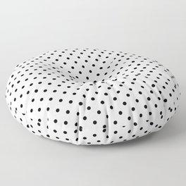 Dots (Black/White) Floor Pillow