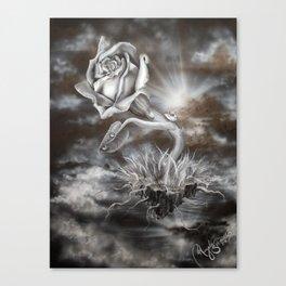 Rose Light Canvas Print
