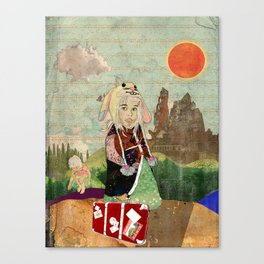 the peculiar adventures of alabee blonde Canvas Print