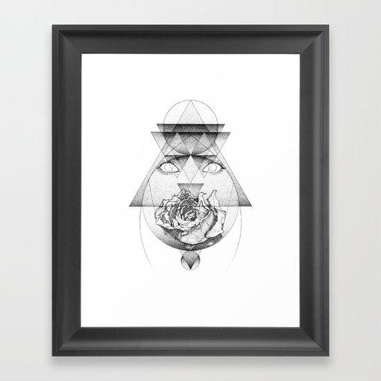 Lupine Rosaceae Framed Art Print