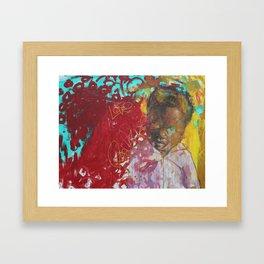 Swazi Art 1 Framed Art Print
