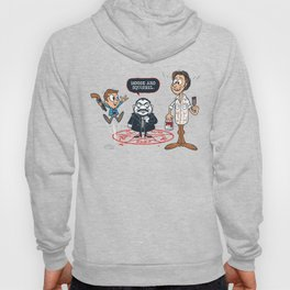 Moose and Squirrel Hoody