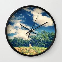 Serie #uneviedechien // 1/20 Wall Clock
