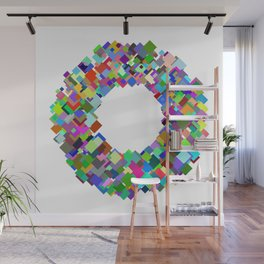 720 squares Wall Mural